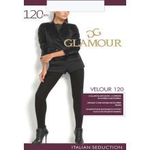 Колготки женские из микрофибры Glamour Velour 120