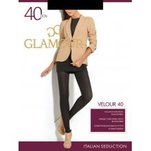 Колготки женские из микрофибры Glamour Velour 40
