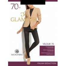 Колготки женские из микрофибры Glamour Velour 70