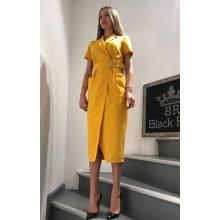 Платье желтое Black Rich